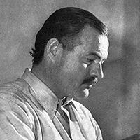 Bild von Ernest Hemingway