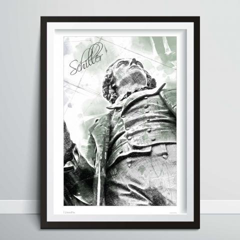 Bild zeigt Poster / Kunstdruck von Friedrich Schiller